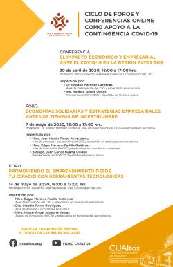 Ciclo de foros y conferencias del CIIO