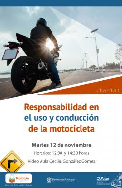 Responsabilidad en el uso y conducción, 12 de noviembre