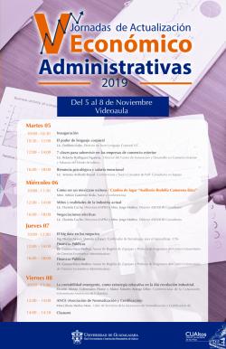 Jornadas Económico Administrativas 2019