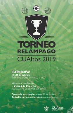 Torneo Relámpago CUAltos 2019