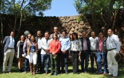 Los alcaldes, la Rectora del CUAltos y el Secretario de Desarrollo buscarán reunirse para aplicar talleres en cada municipio