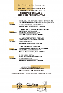 4to Ciclo de Conferencias