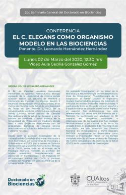 El C. Elegans como organismo modelo en las biociencias