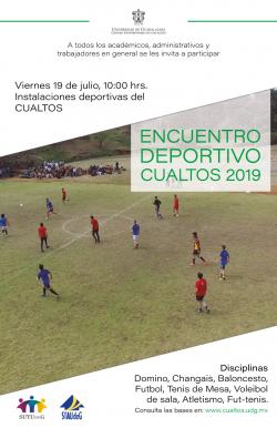 ENCUENTRO DEPORTIVO CUALTOS 2019
