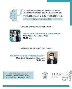Ciclo de videoconferencias - Día nacional del psicólogo y la psicóloga