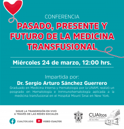 Pasado, presente y futuro de la medicina transfusional