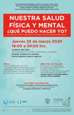 Nuestra Salud Física y Mental ¿Qué puedo hacer yo?