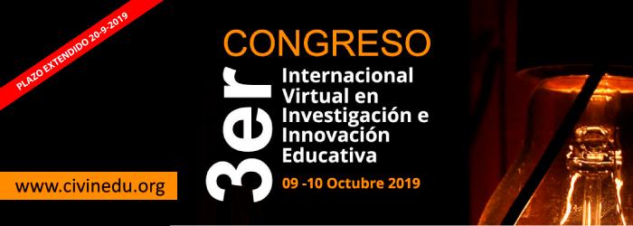 3er Congreso Internacional Virtual en Investigación Educativa