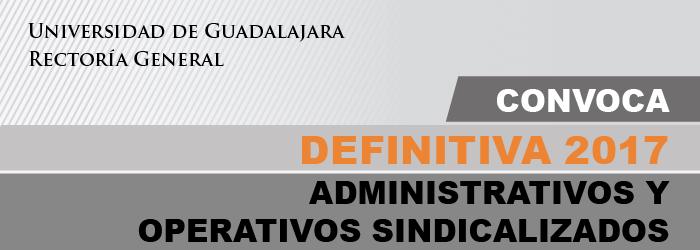 Definitividad 2017