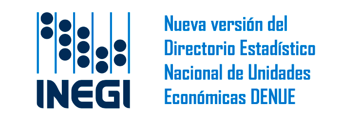 Nueva versión del Directorio Estadístico  Nacional de Unidades  Económicas DENUE