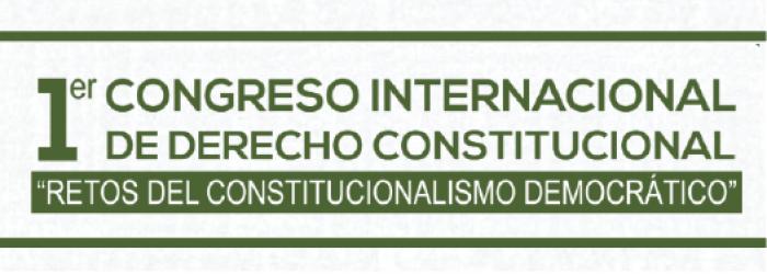 1er Congreso Estatal de Derecho Constitucional, 25, 26, 27 de junio. Santa Cruz Bolivia