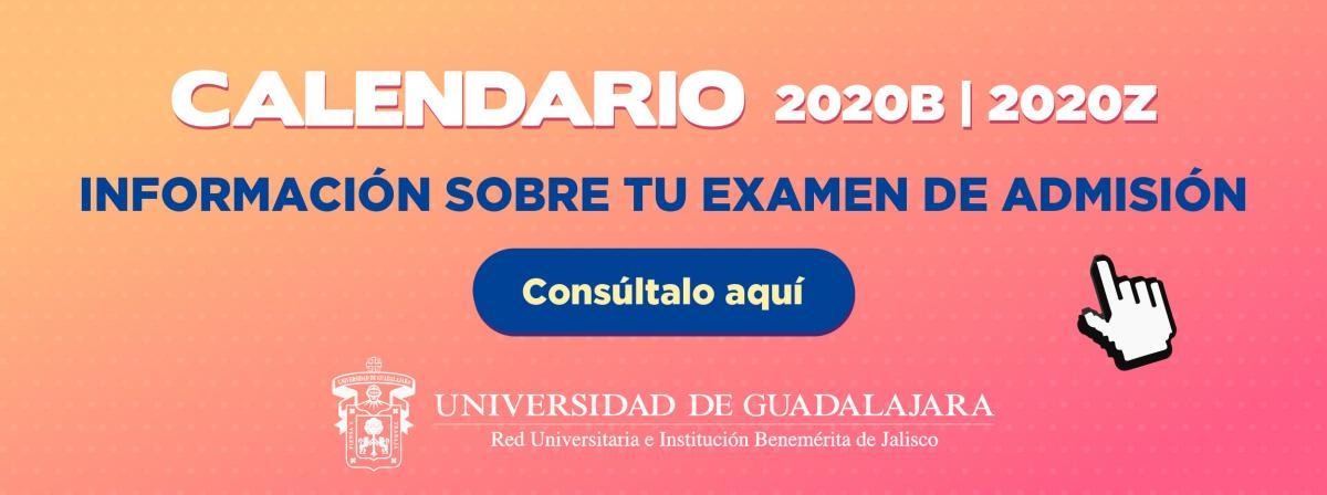 Información sobre tu examen de admisión