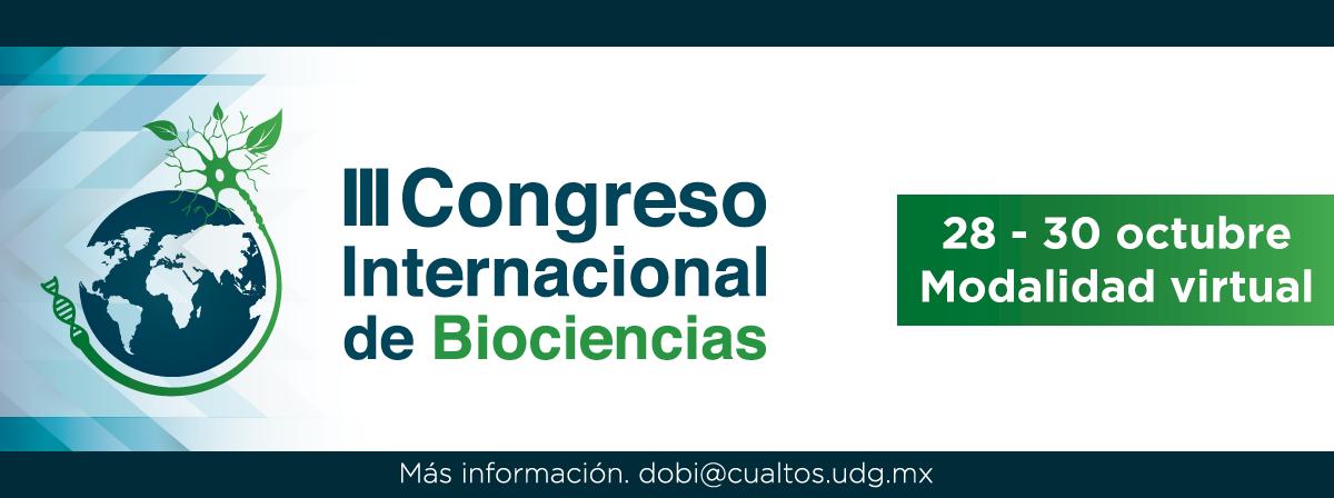 3er Congreso Internacional de Biociencias