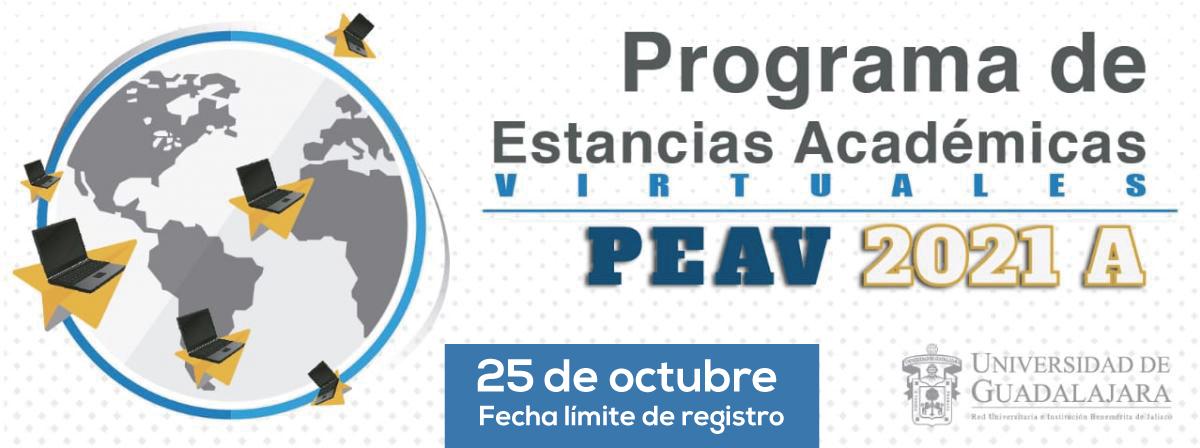 Programa de Estancias Académicas Virtuales 2021A