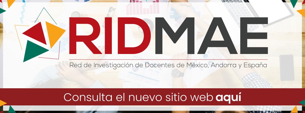 Sitio web RIDMAE