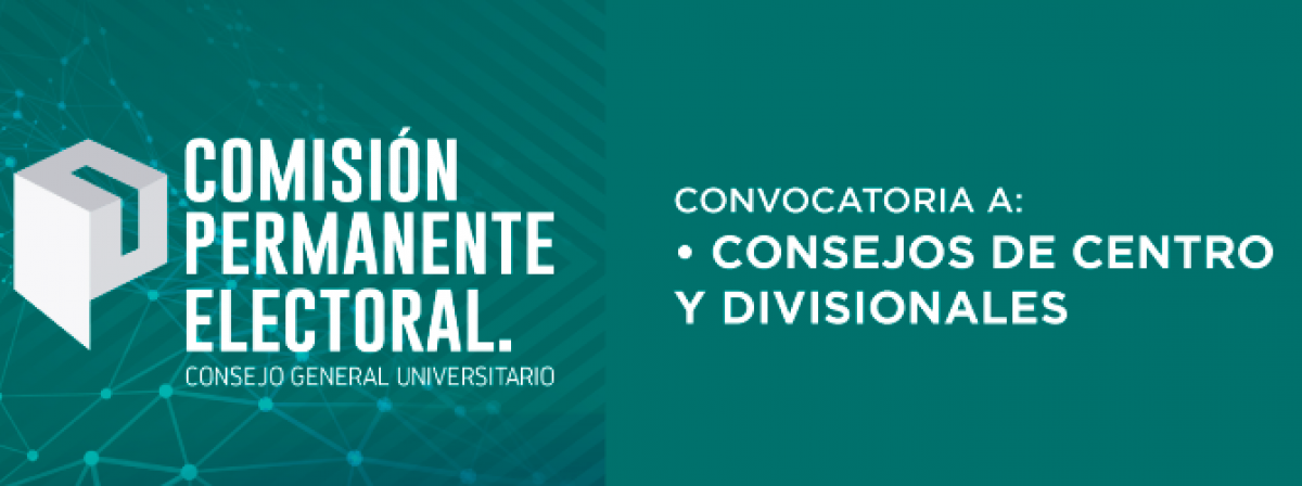 Convocatoria - Consejos de centro y divisionales