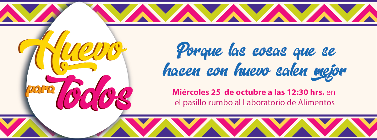 Huevos para todos, miercoles 25 de octubre a kas 12:30 hrs.