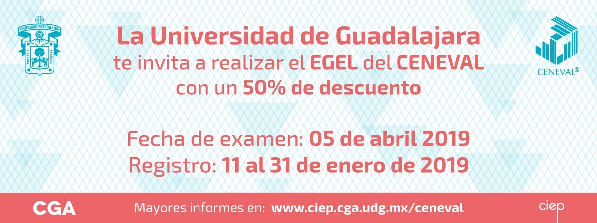 Examen ceneval sede Cualtos, fecha de registro 9 de mayo a 22 de Julio