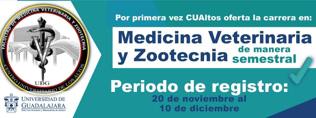 Oferta Académica 2020 Licenciatura en Medicina Veterinaria y Zootecnia